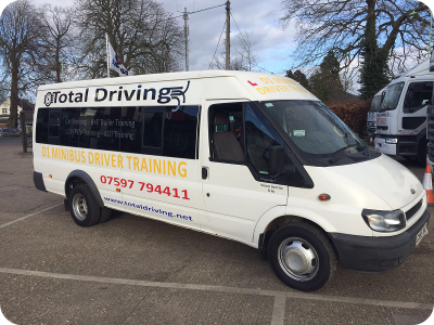 PCV PSV Minibus Training - Ipswich, Bury St Edmunds, Suffolk