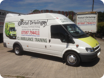 C1 LGV HGV Training Ipswich