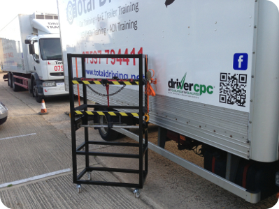 Load Securing Demonstration Trolley