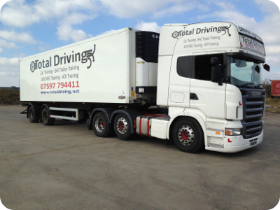 Category C+E Class 1 LGV HGV Training Ipswich Bury St Edmunds Suffolk